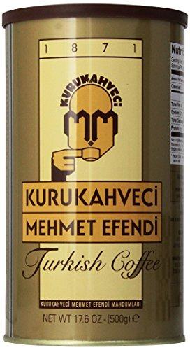 Kurukahveci Mehmet Efendi Turkish Coffee, 17.6...