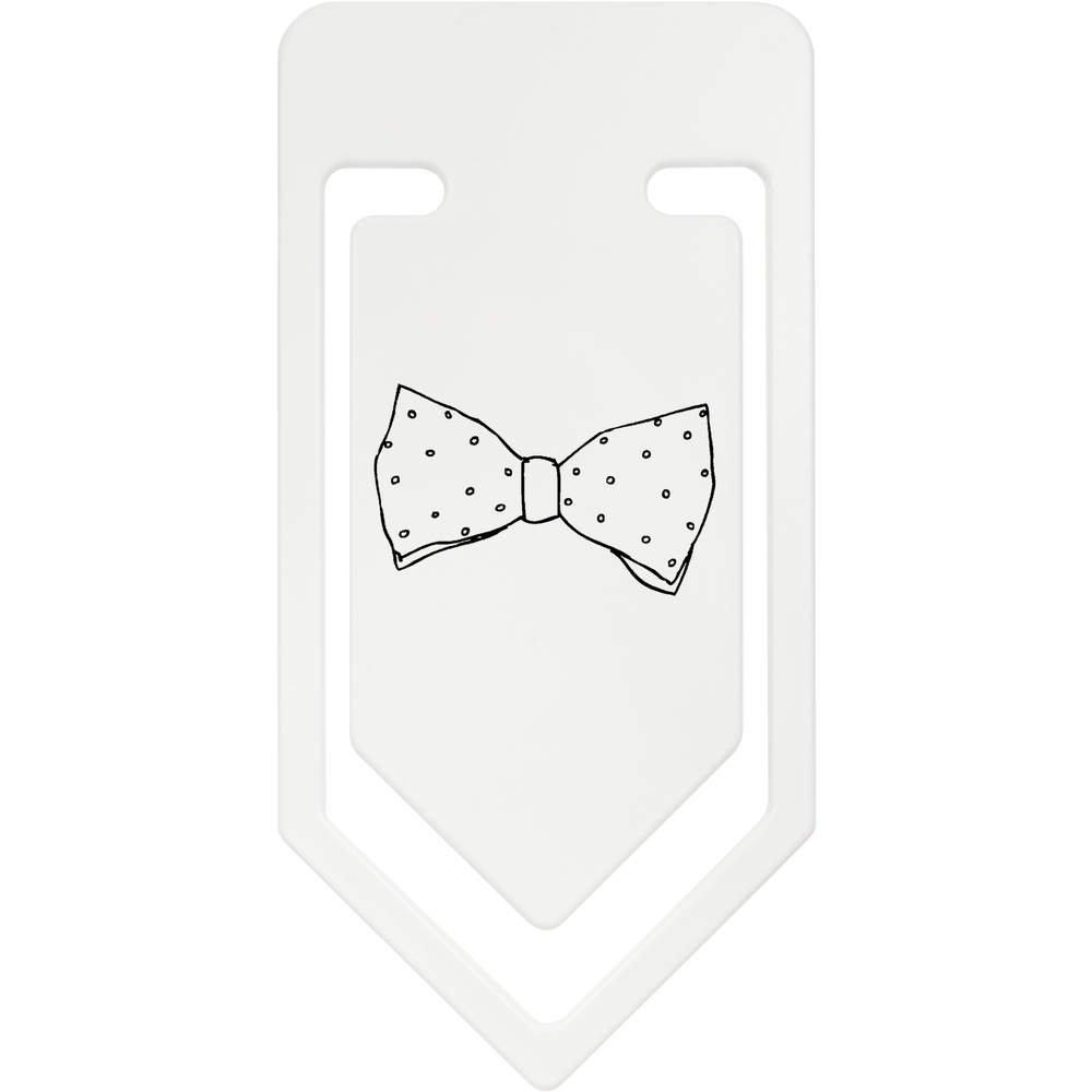 Azeeda 141mm Corbata de Moño Clip de Papel Plástico Gigante ...