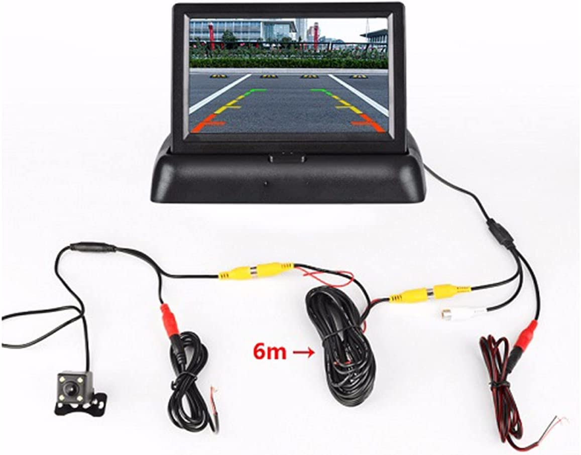 4.3Inch Car Monitors LCD Rear R 2021 Directly managed store new Parking Display View Monitor