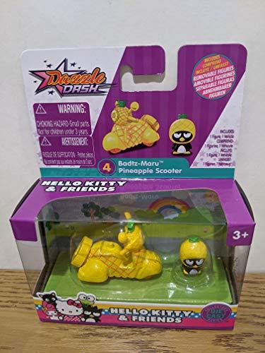 Dazzle Dash Hello Kitty & Friends Badtz Maru Pineapple Scooter