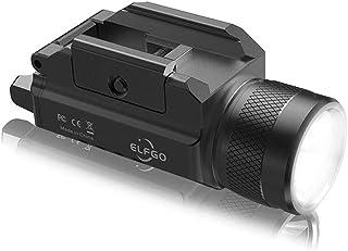 ELFGO Weapon Light, 1200 Lumens Pistol Light Compact LED Gun Lights Tactical Handgun Light Rail Mounted Glock Flashlight w...