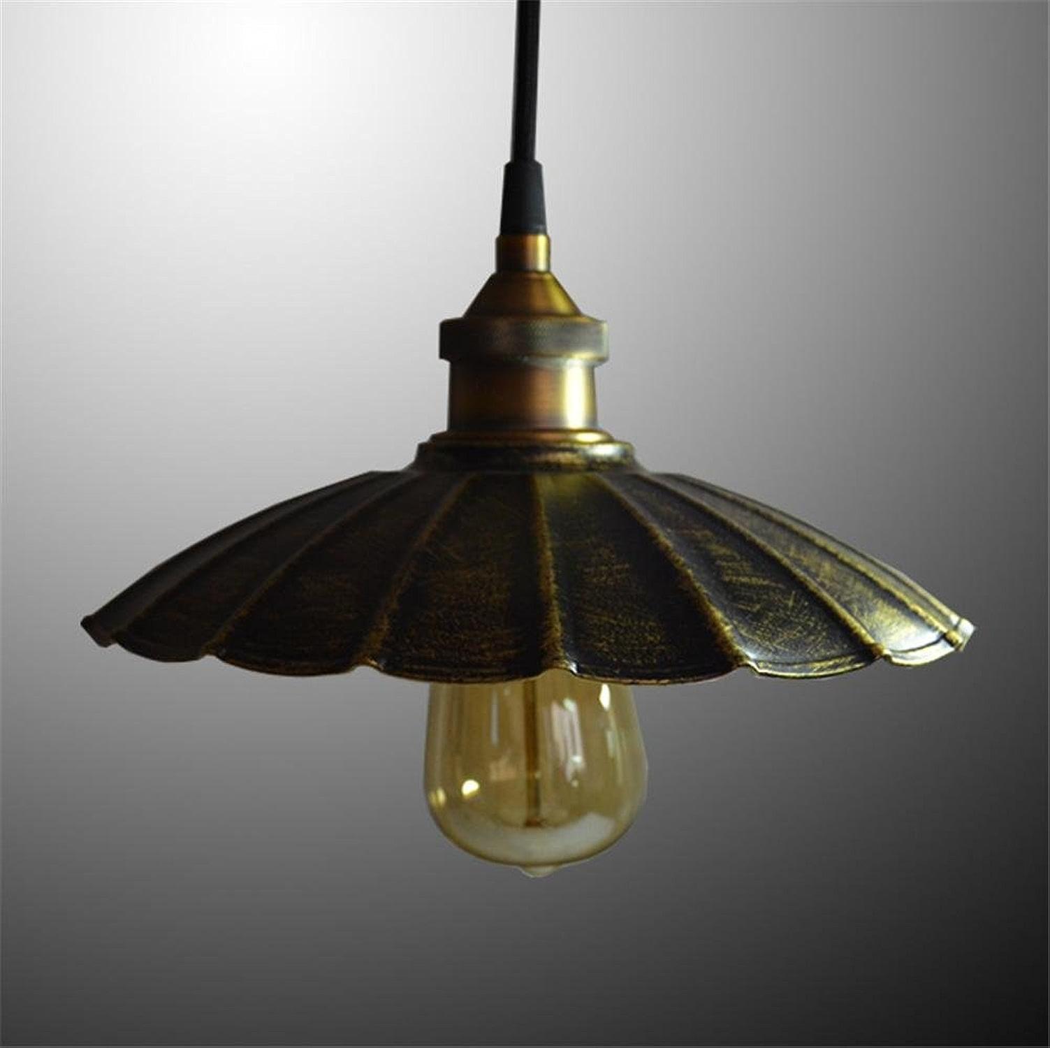 H&M Eclairage de plafond Luminaires Lustre Suspension pendentif décoratif antique pendaison de fer lampe parasol chambre salon éclairage Lustres, B