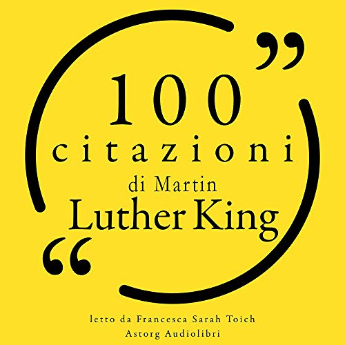 100 citazioni di Martin Luther King cover art