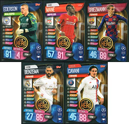 Topps Match Attax EXTRA 2017 2018 Premier League complete full team jeux de cartes