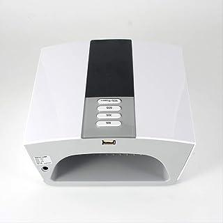 Máquina de terapia de luz de doble fuente de secado rápido con lámpara de uñas de alta potencia de 60W
