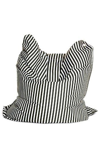 Sitting Bull 634016 Sitzsack Fashion Bull / 190 x 130 cm / Black & White
