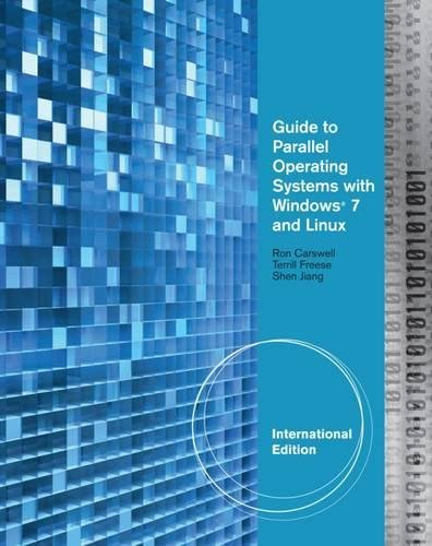 Freese, T:  Guide to Parallel Operating Systems with Windows