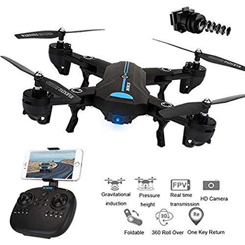 HBS Hubsons® Aquila GPS Multicopter, Modell 2020 mit Full-HD Kamera, WiFi Video-Übertragung, zusammenfaltbare Drohne