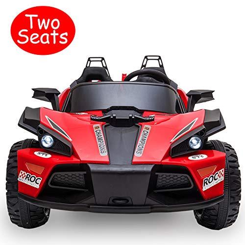 Uenjoy 2 Seats Kids Car 12V - New