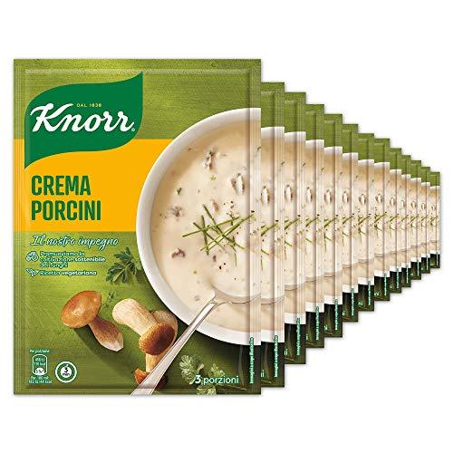 Knorr Crema Con Porcini - Confezione Da 14 Pezzi - 1.64 kg