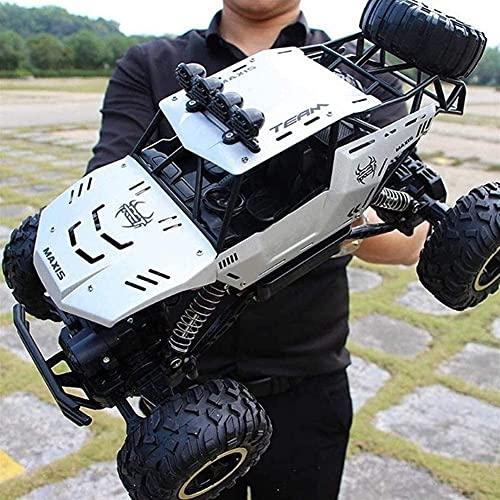 Moerc Talla grande Control remoto Coche 4WD RC Camión fuera del vehículo Monstruo Coche de escalada 2.4GHz 4x4 Racing de alta velocidad Coche eléctrico Buggy Boys Niños Regalos Juguetes Niños y adulto