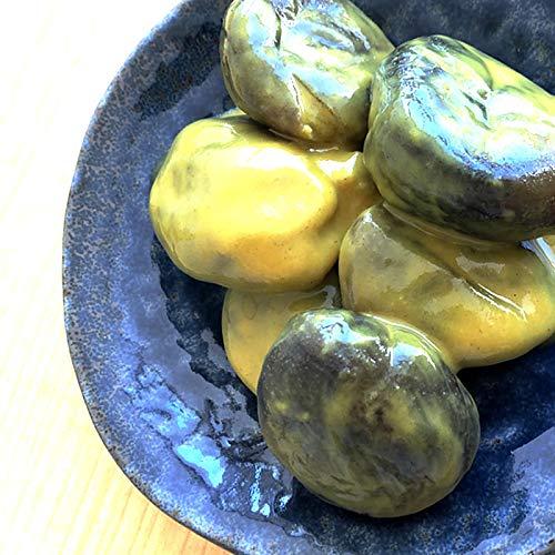 からし茄子 山形名産 丸茄子 からし漬け 辛い 漬物 [からし茄子200g×1袋] メール便