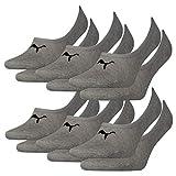 Puma Hombre Calcetines de Deporte Paquete de 3 - medio gris mixto(758), 43/46