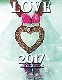 Love 2017 Wall Calendar