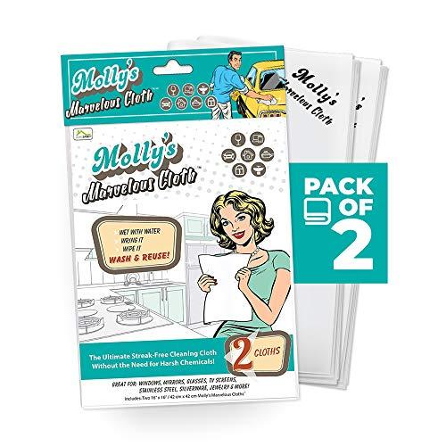 Streak-Free Polishing Cloth - 2 Pack