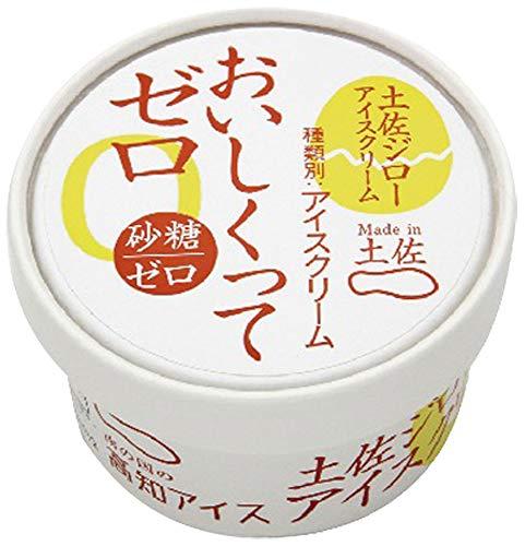 高知アイス 砂糖ゼロ おいしくってゼロ 土佐ジローアイスクリーム 24個×5セット 【 計120個 】