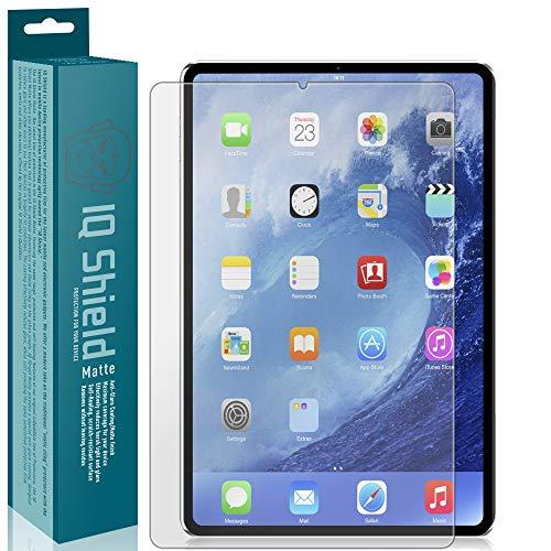 IQShield Matte Screen Protector Compatible with Apple iPad Pro 12.9 (2020) Anti-Glare Anti-Bubble Film