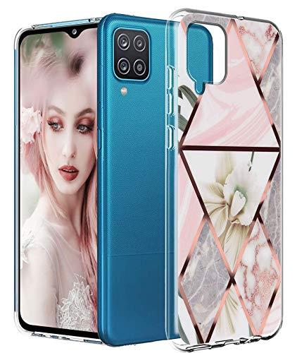 Carcasa transparente para Samsung Galaxy A12 – Carcasa de cristal de silicona, antigolpes, ultrafina, de poliuretano termoplástico, antigolpes, carcasa flexible para Samsung Galaxy A12