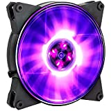 Cooler Master MasterFan Pro 140 Air Pressure RGB- 140mm Static Pressure RGB Case Fan for 4-Pin 12V, Computer Cases CPU Coolers and Radiators