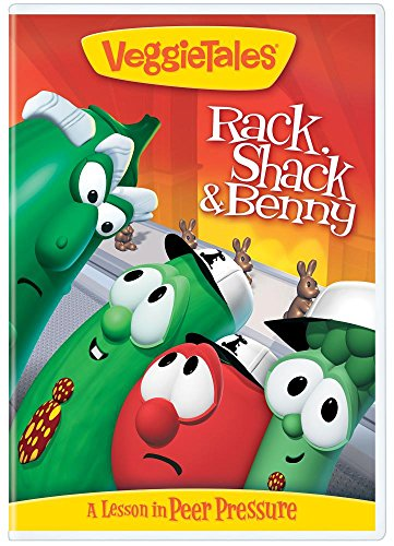 VeggieTales Rack, Shack and Benny - Repackage
