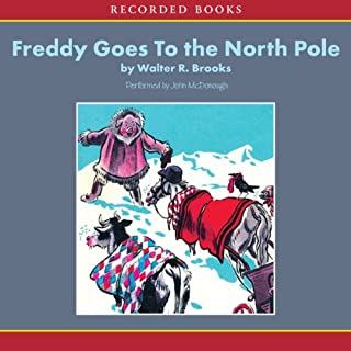 Freddy Goes to the North Pole audiobook cover art