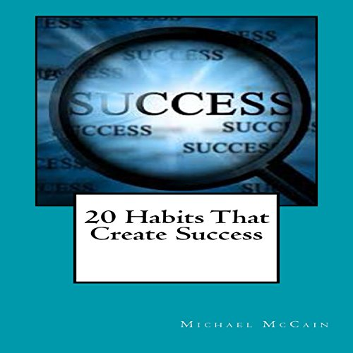 20 Habits That Create Success cover art