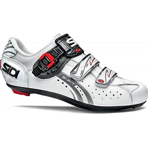 Sidi Sport Genius 5Fit Carbon Mega Road Chaussures Homme 51 Blanc/Blanc