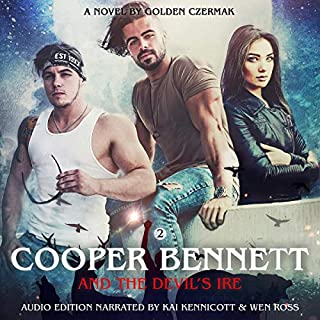 Cooper Bennett and the Devil's Ire audiobook cover art