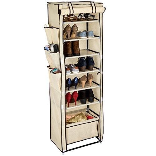 36 Paire De Suspension Porte Étagère à Chaussures 12 niveaux étagère Organisateur Support de stockage titulaire