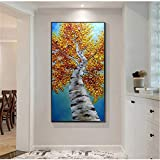 RTCKF Arte Abstracto Animal Moderno Pintura al óleo Dibujo a Mano Pintura de la Pared Pintura de la decoración de la casa del Arte (sin Marco) A4 30x60CM