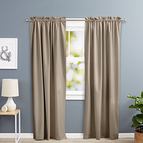 cortinas salon mostaza