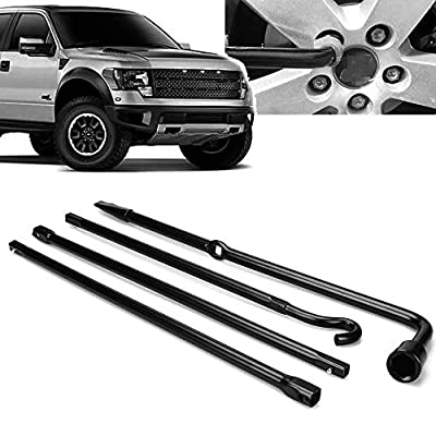 Hediy Spare Tire Replacement Lug Wrench Tool Kits and Scissor Jack