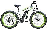Bicicletas Eléctricas, Bicicleta eléctrica de aleación de aluminio de la batería de litio de la playa de motos de nieve rueda grande Fat Tire ciclomotor cercanías de ejercicio físico ,Bicicleta