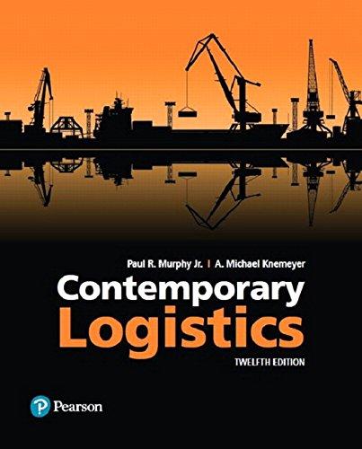 Contemporary Logistics (12th Edition)