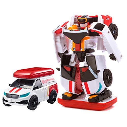 Siyushop Transformer Robot Voiture, Jouets for Enfants Deformation, Robots Deformation, Garçon Et Une Fille De Voiture Jouets, 2-8 Ans Enfants ( Color : 1 )
