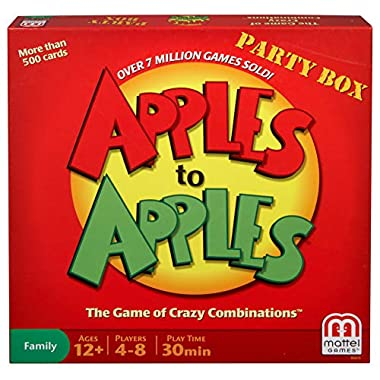 Mattel Apples to Apples Party in a Box Game