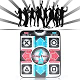 PIAOPIAONIU Dance Pad Dancing Mat,USB Single 11 Keys Non-Slip Sensitive Dancing Dance Blanket for Laptop Video Game Kids Adults Family Home Entertainment, Type1