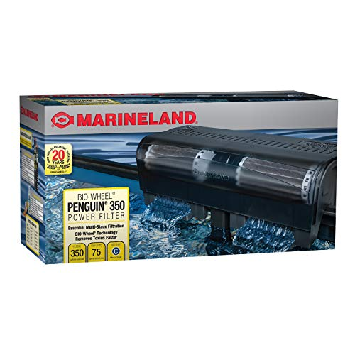 Marineland PF0350B Penguin Power Filter, 50 to 70-Gallon, 350 GPH