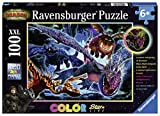 Ravensburger Kinderpuzzle 13710 - Leuchtende Dragons - 100 Teile -