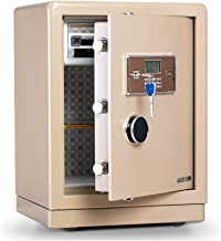 Wall Safes Electronic Code Lock Small Safe Mini Safe Anti-Theft Small Safe Deposit Box Office and Home in-Wall Bedside Al...