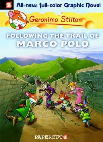 (FOLLOWING THE TRAIL OF MARCO POLO ) By Stilton, Geronimo (Author) Hardcover Published on (04, 2010)