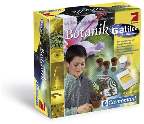 Clementoni 5690466 - Galileo Experimentierbox Botanik