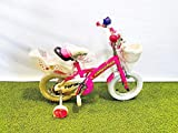 CINZIA Bici Bicicletta JUMPERTREK Ninjas Bimba Bambina 12' con ROTELLE