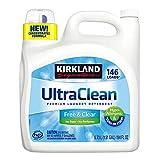Kirkland Signature Ultra Clean Free & Clear HE Premium Hypo-Allergenic 146 Loads Liquid Laundry - (5.73L)