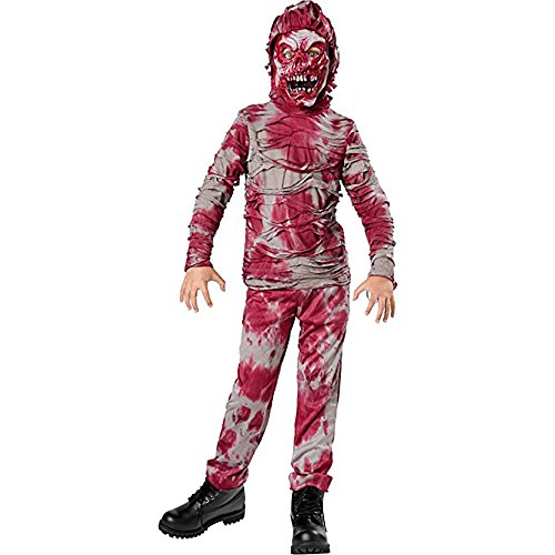 Tante Tina Gruseliges Zombie Kinderkostüm für Halloween - 2-teiliges Set - Gr. S (116, 3-5 Jahre)