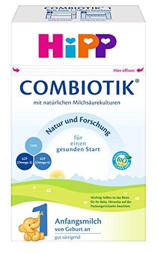 Hipp 1 Bio Combiotik Anfangsmilch von geburt an, 1er Pack (1 x 600g)