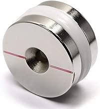2 Pieces of CMS Magnetics Neodymium Magnets Dia 1.26