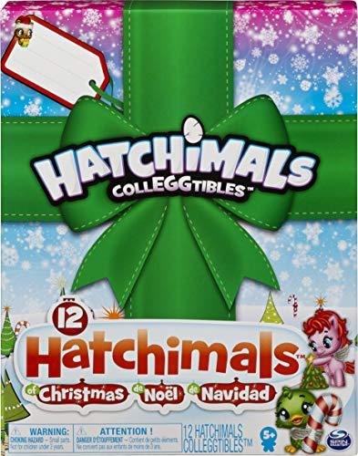 Hatchimals CollEGGtibles 12 Hatchimals Weihnachtsüberraschungs-Geschenk-Set für Kinder ab 5 Jahren