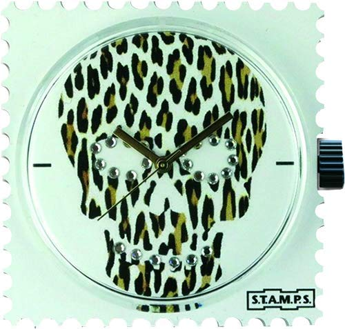 Stamps Diamond Skully Leo-Swarovski 105302 Watch Case