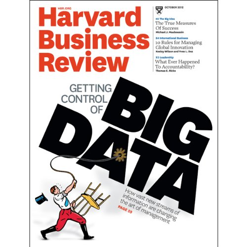 Harvard Business Review, October 2012 copertina